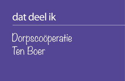 Dorpscoöperatie Ten Boer