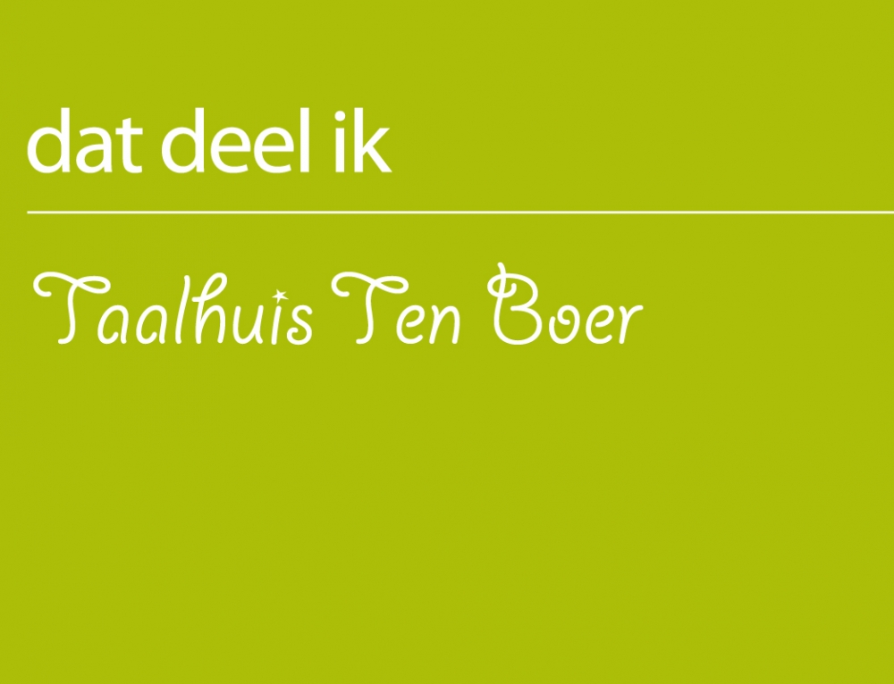 TAALHUIS TEN BOER